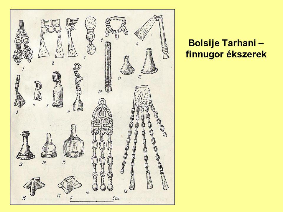 Bolsije Tarhani – finnugor ékszerek