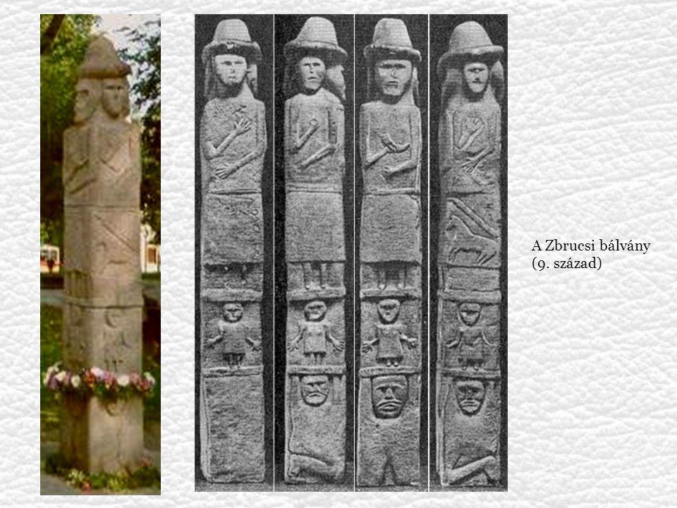 A Zbrucsi bálvány (9. század)