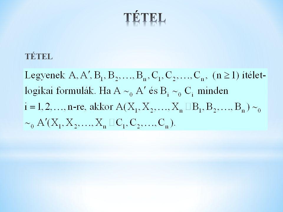 TÉTEL