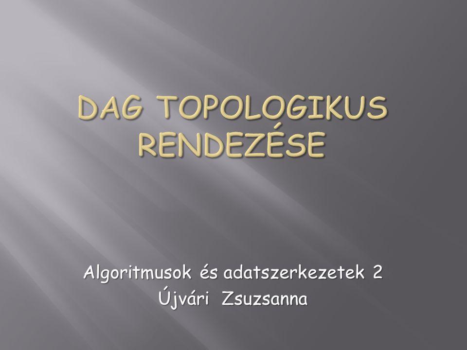 Algoritmusok és adatszerkezetek 2 Újvári Zsuzsanna