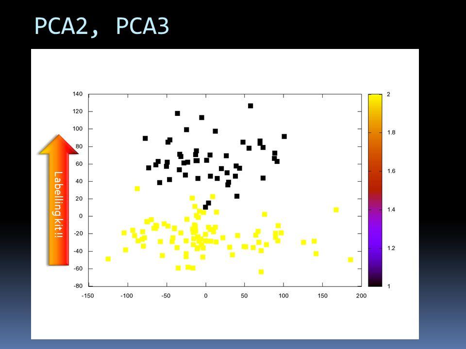 PCA2, PCA3 Labelling kit !!