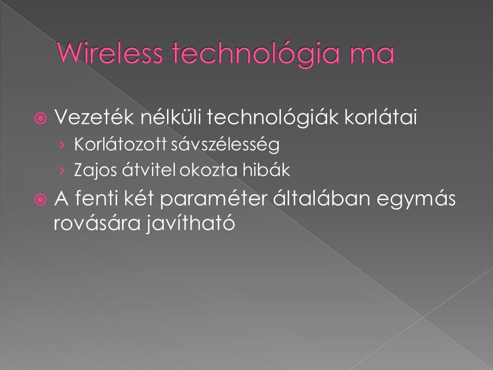  A MIMO rendszerek egyszerűen definiálva: Olyan vezeték nélküli kommunikációs rendszer, ahol mind a fogadó, mind a küldő oldalon több antennán keresztül folyik a kommunikáció.
