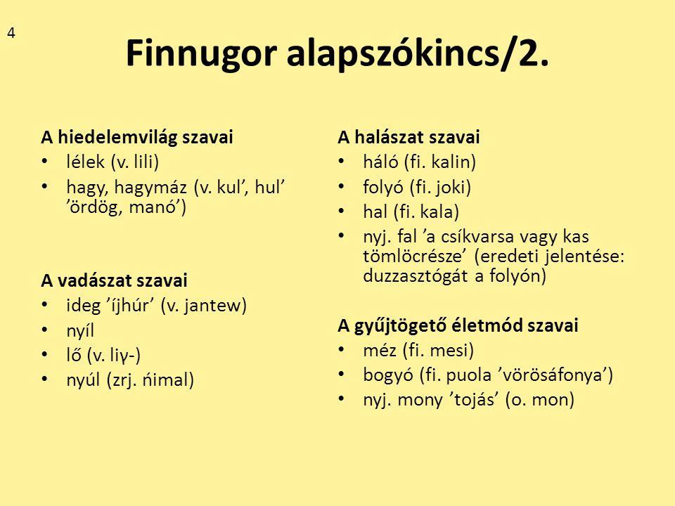 Finnugor alapszókincs/3.A lakás és ruházkodás szavai ház (fi.