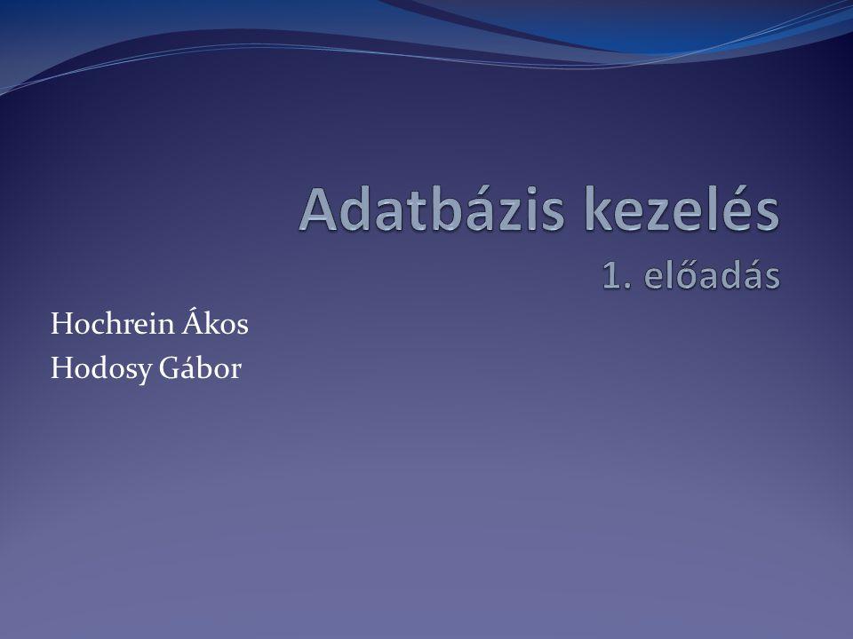 Hochrein Ákos Hodosy Gábor