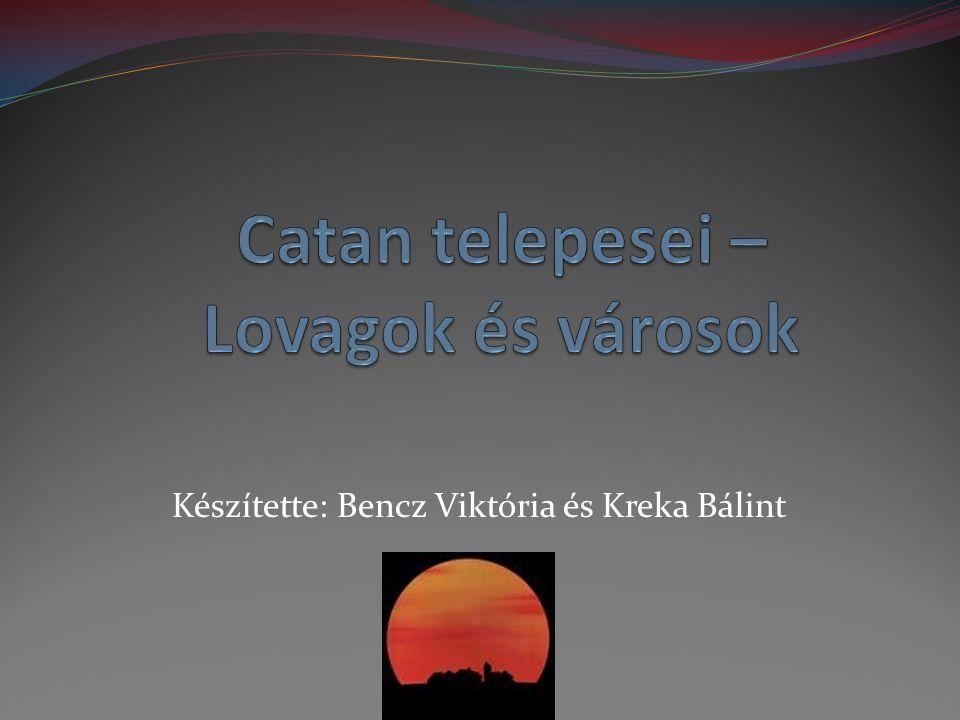 Készítette: Bencz Viktória és Kreka Bálint