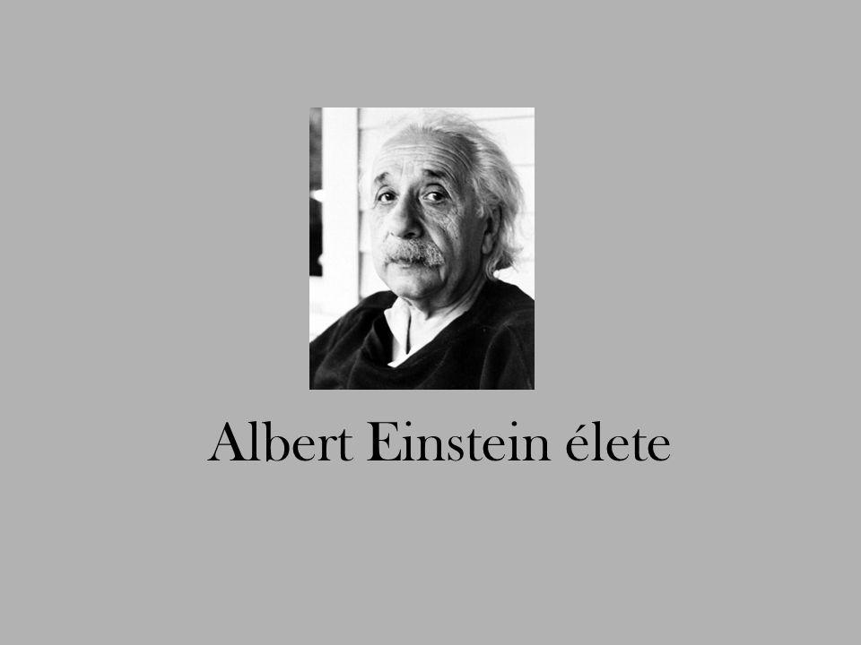 Albert Einstein élete