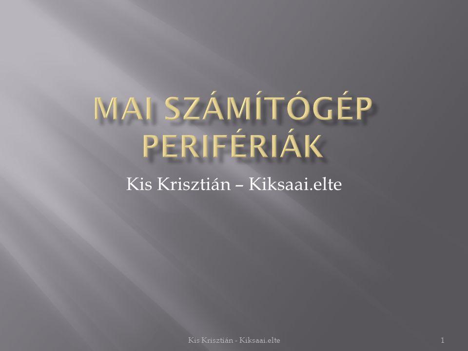 Kis Krisztián – Kiksaai.elte 1Kis Krisztián - Kiksaai.elte