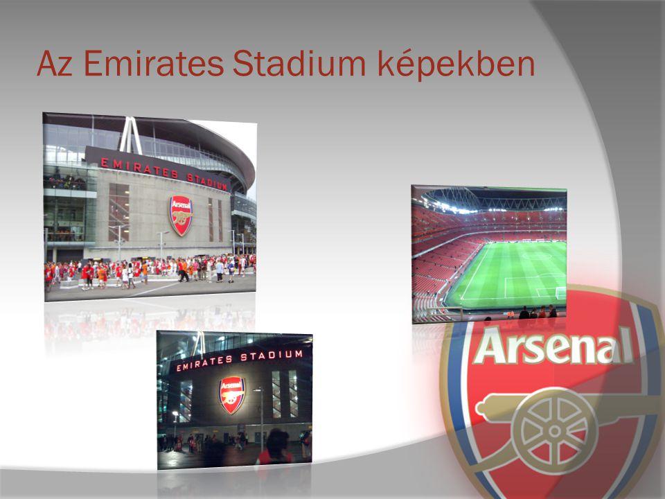 Az Emirates Stadium képekben