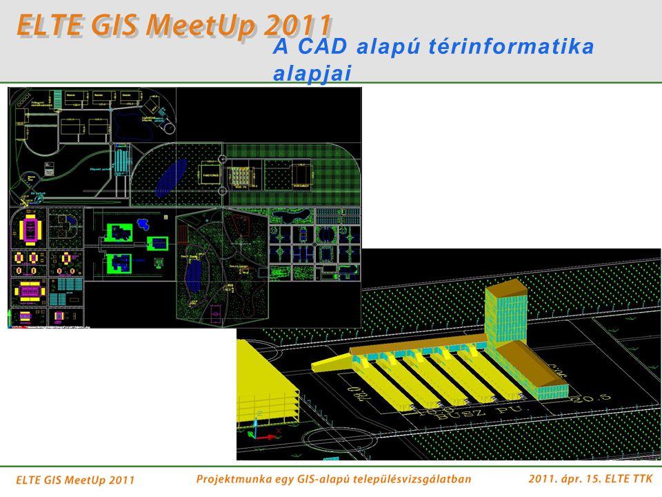 A CAD alapú térinformatika alapjai