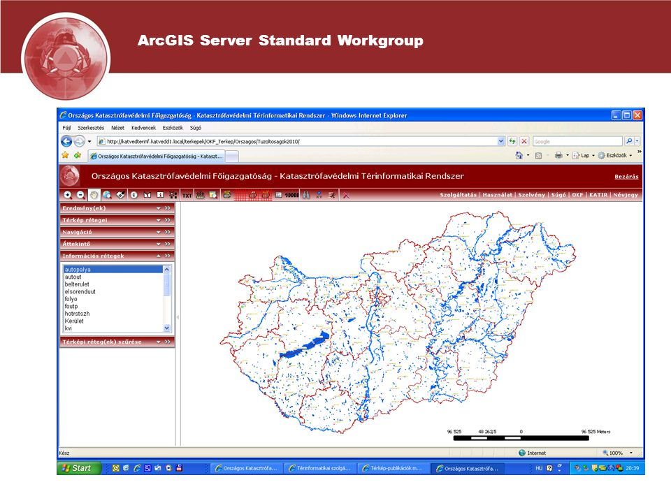 ArcGIS Server Standard Workgroup