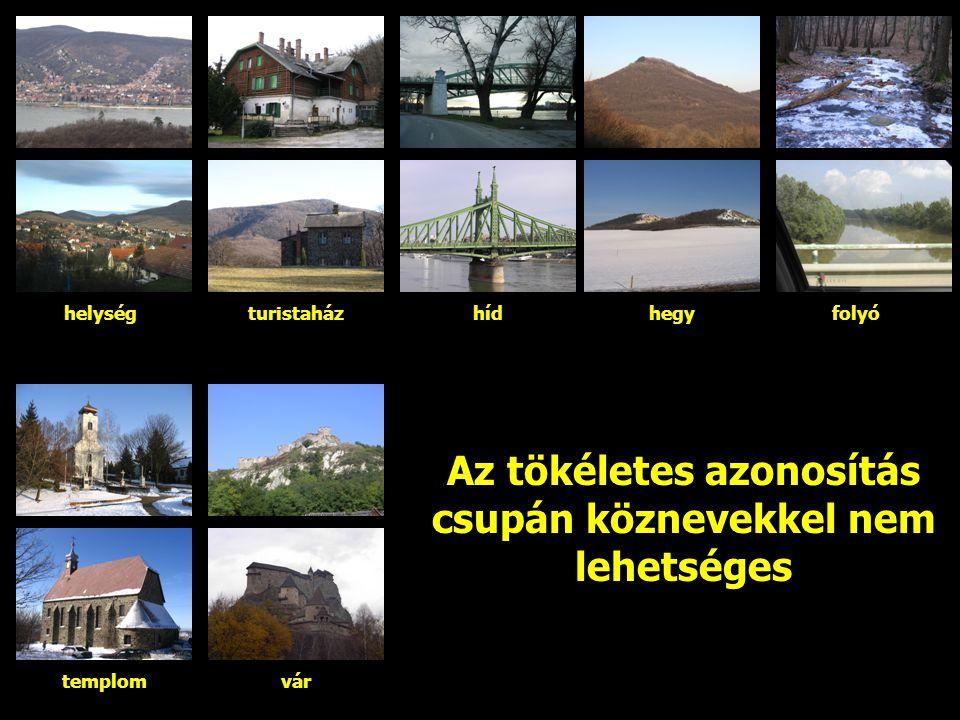 Egyéb megjelölések Magyarázónevek (magyarázó írások) Kísérő szöveges elemek Szervesen kapcsolódnak a térkép tartalmához.