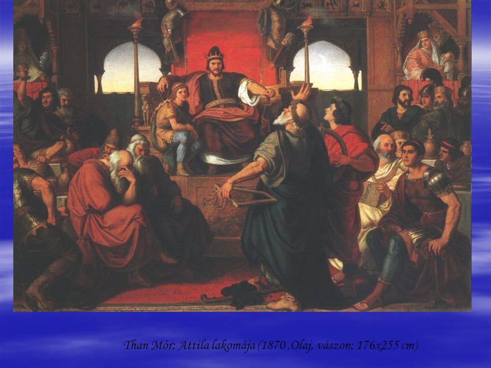   Benczúr Gyula: Hunyadi László búcsúja (1866, Olaj, vászon, 147 x 121 cm)