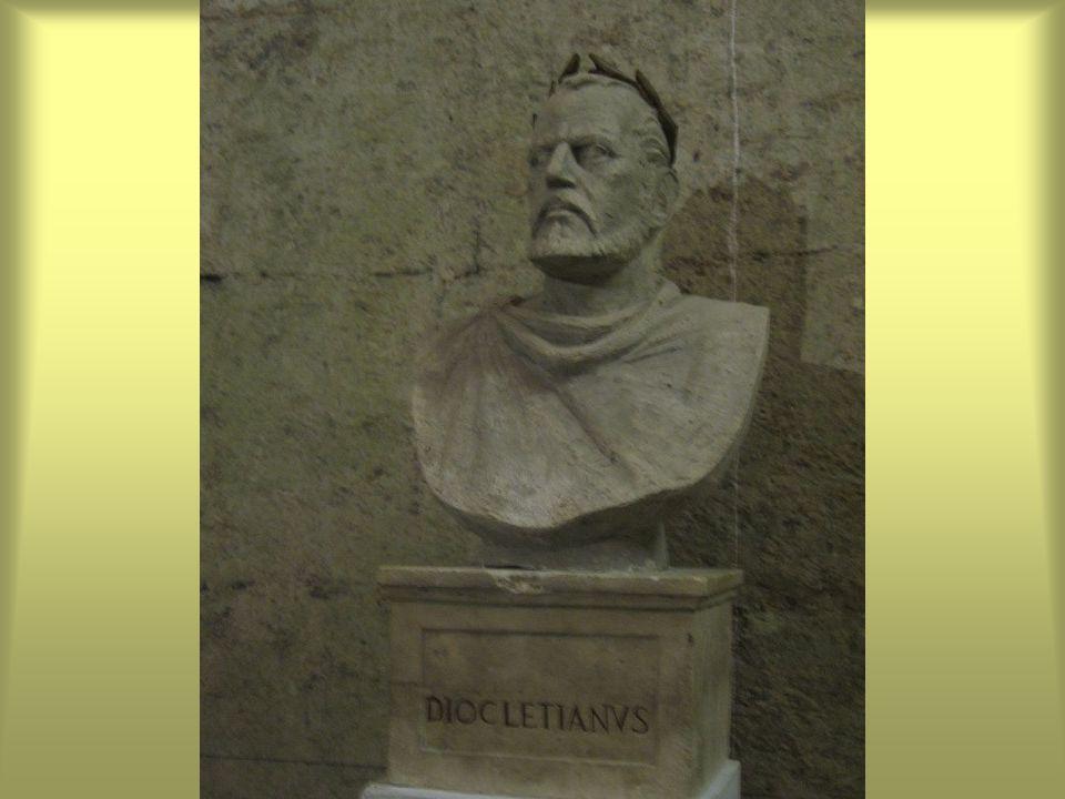 Diocletianus császár palotája északi részén lévő Nini Gergely (Ninski Grgur) IX.