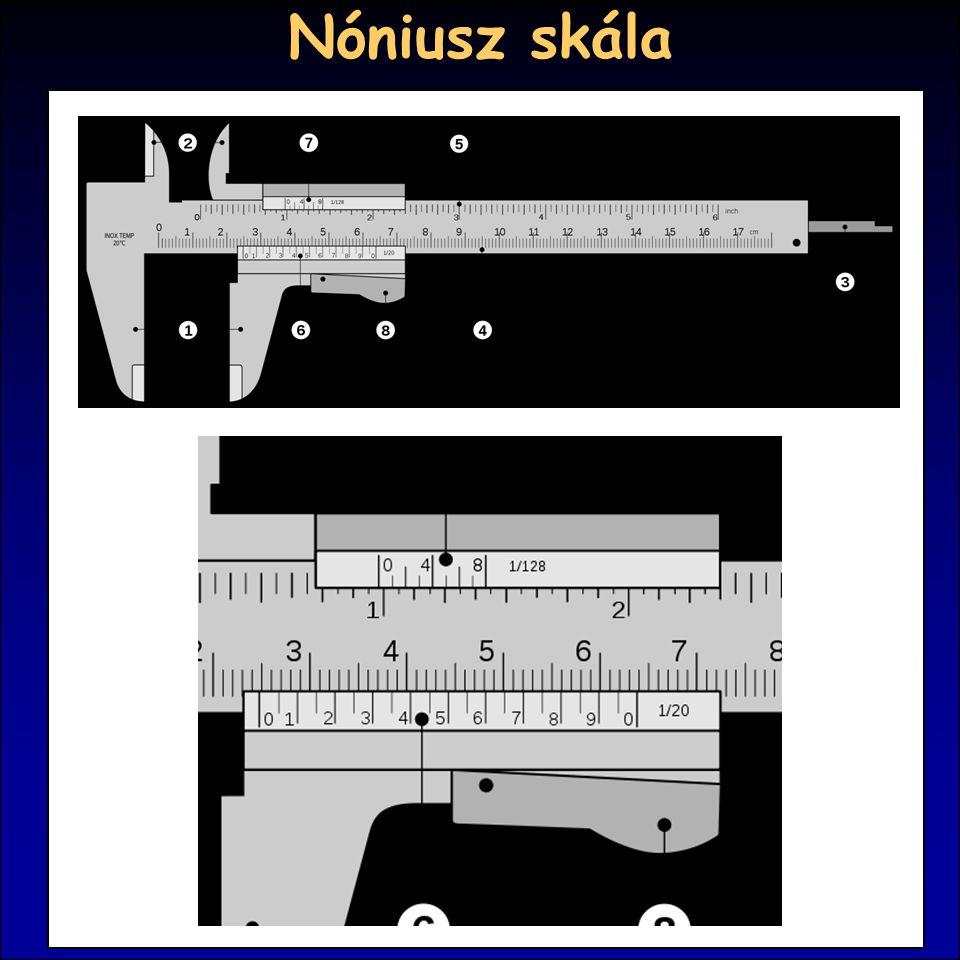 Nóniusz skála