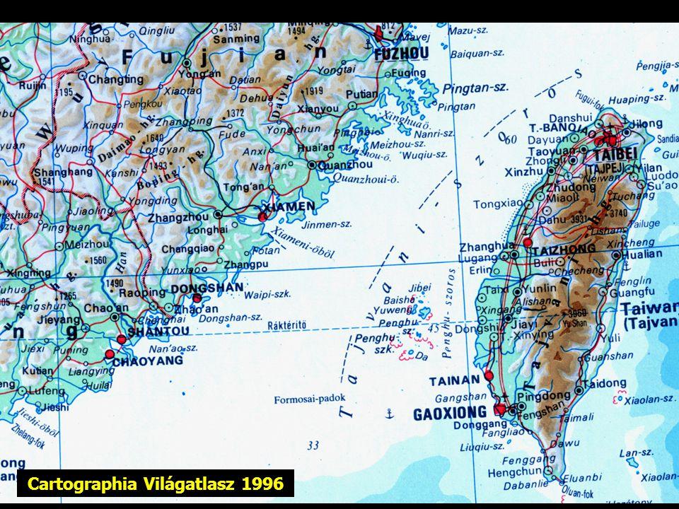 Cartographia Világatlasz 1996