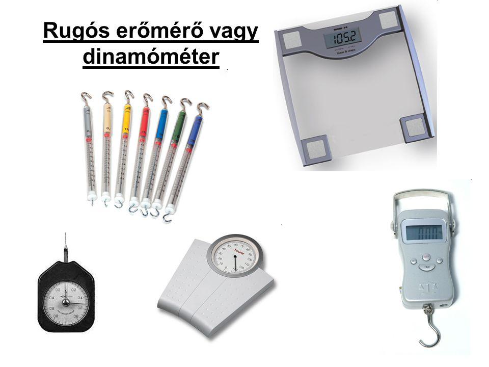 Rugós erőmérő vagy dinamóméter