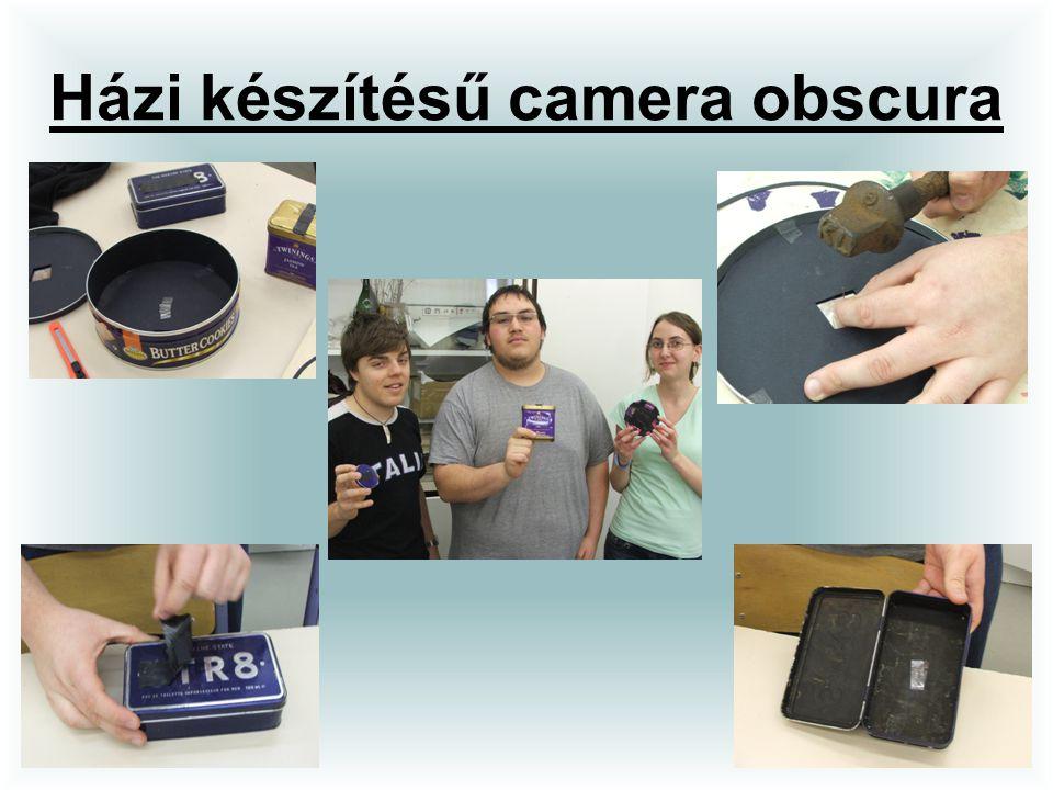 Házi készítésű camera obscura