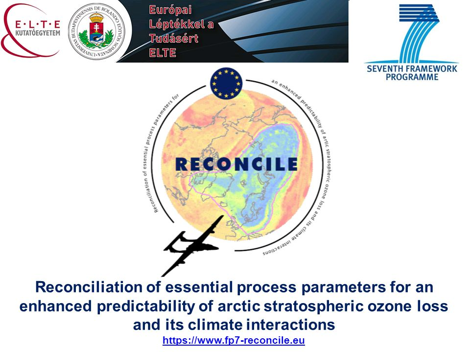Reconciliation of essential process parameters for an enhanced predictability of arctic stratospheric ozone loss and its climate interactions https://
