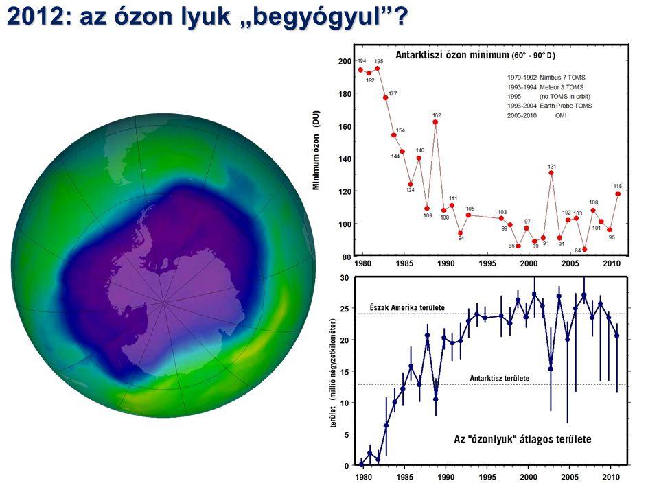 """2012: az ózon lyuk """"begyógyul ?"""