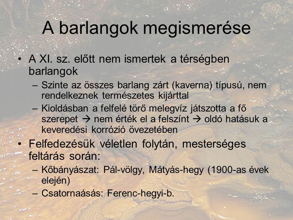 A barlangok megismerése II.II.