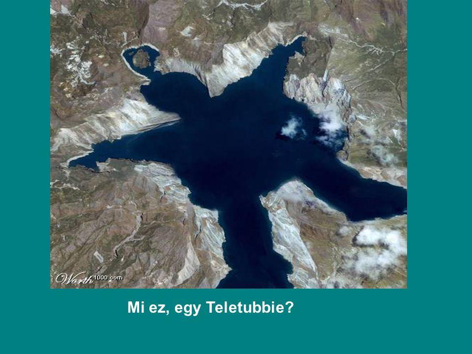 Mi ez, egy Teletubbie?
