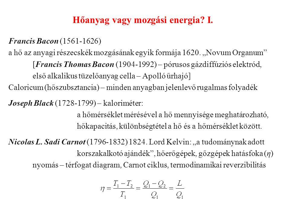 Hőanyag vagy mozgási energia.I. Jean B.J.