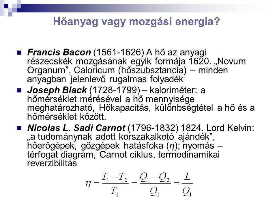 Hőanyag vagy mozgási energia.