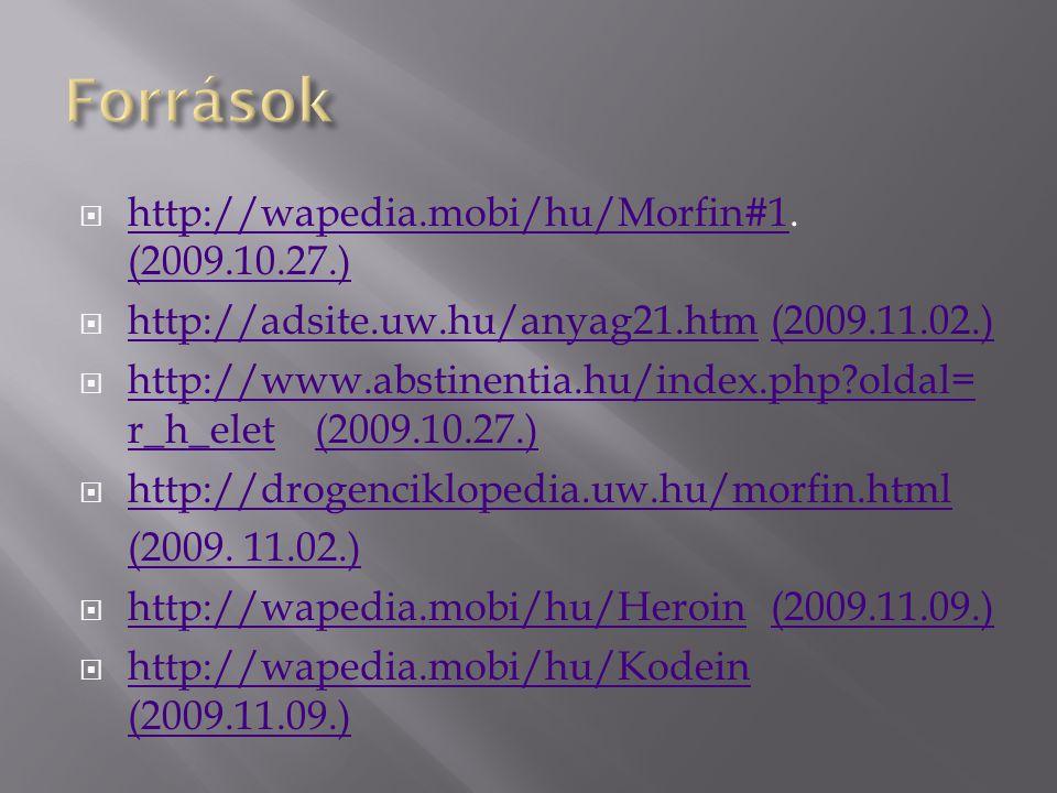  http://wapedia.mobi/hu/Morfin#1.