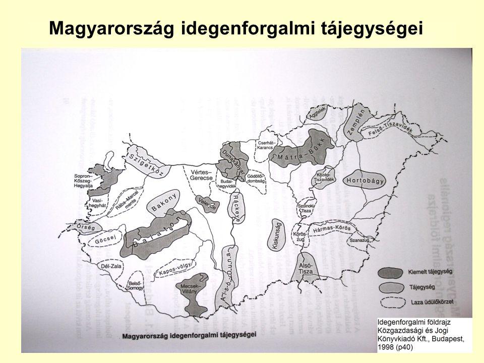 Magyarország idegenforgalmi tájegységei