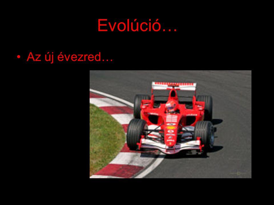 Evolúció… Az új évezred…