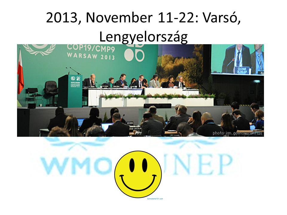 2013, November 11-22: Varsó, Lengyelország