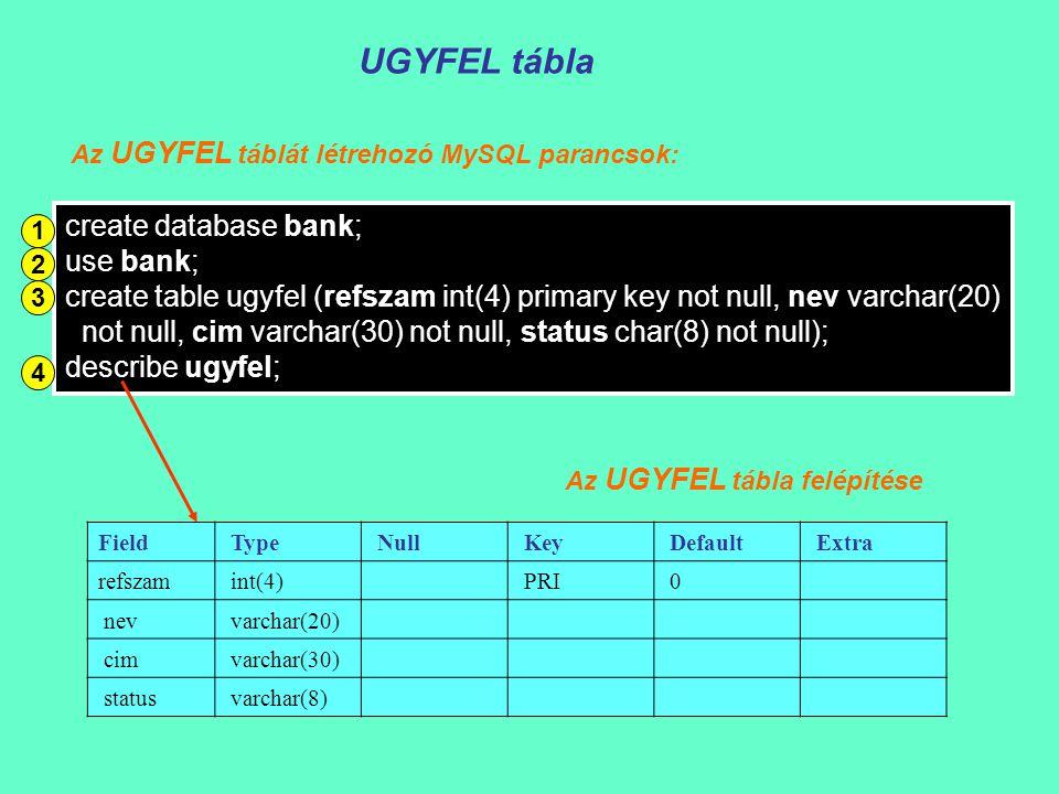 Kapcsolat az adatbázishoz - Előkészületek  // Implementation public: void ReleaseDataBase(); void ConnectDataBase(CString s); virtual ~CBankDoc(); protected: Connection* con; BankDoc.h