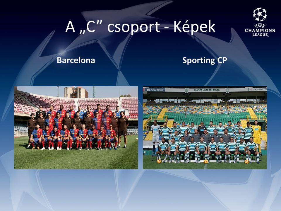 "A ""C csoport - Képek BarcelonaSporting CP"