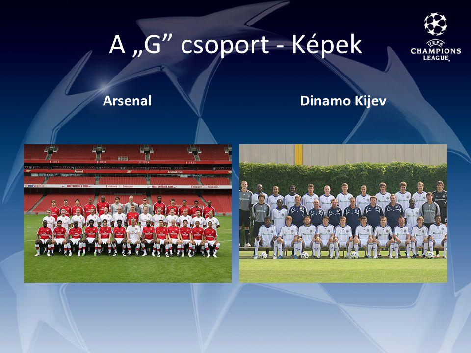 "A ""G csoport - Képek ArsenalDinamo Kijev"