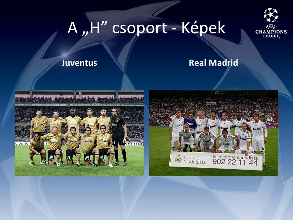 """A """"H csoport - Képek JuventusReal Madrid"""