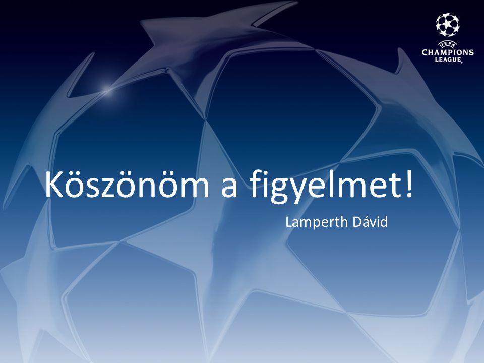 Köszönöm a figyelmet! Lamperth Dávid