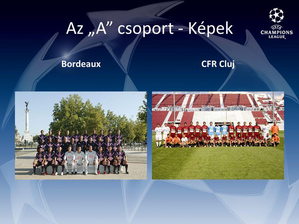 """Az """"A csoport - Képek BordeauxCFR Cluj"""