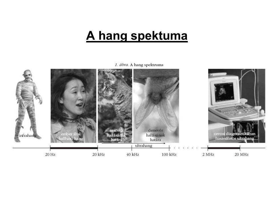 A hang spektuma
