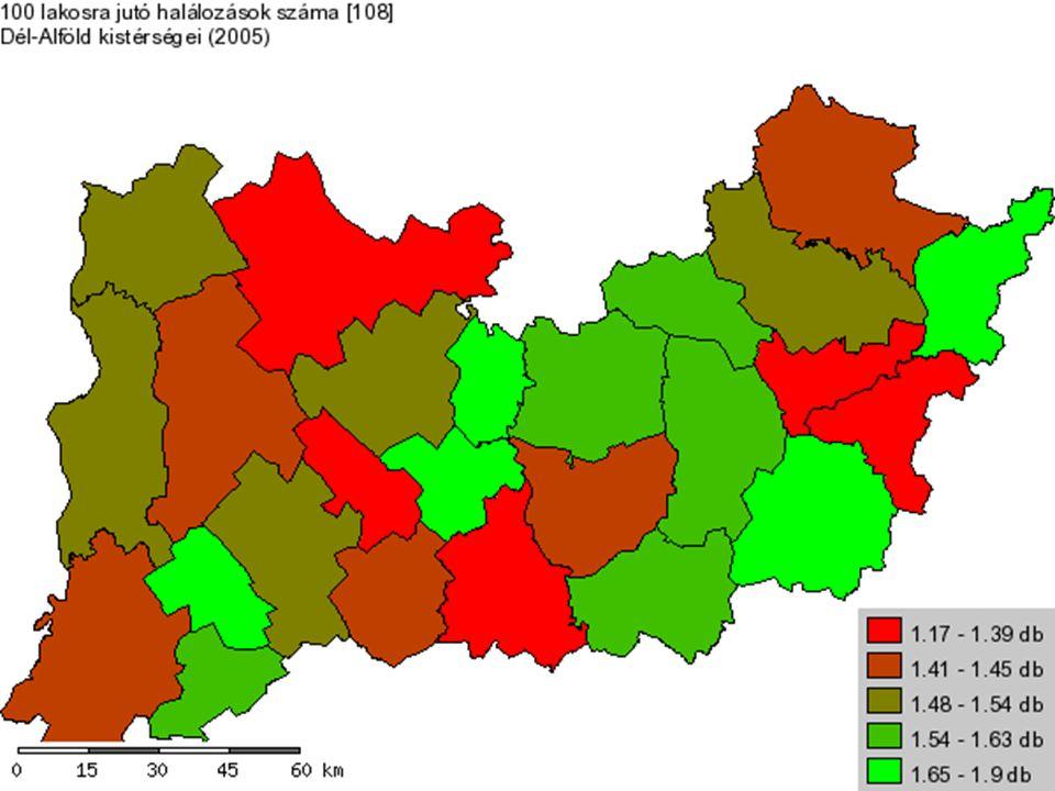 Szakirodalom: Perczel György (szerk.): Magyarország társadalmi-gazdasági földrajza (Budapest, 2003) del-alfold.hu/public nfu.gov.hu Adatok forrása: portal.ksh.hu teir.vati.hu/elemzes