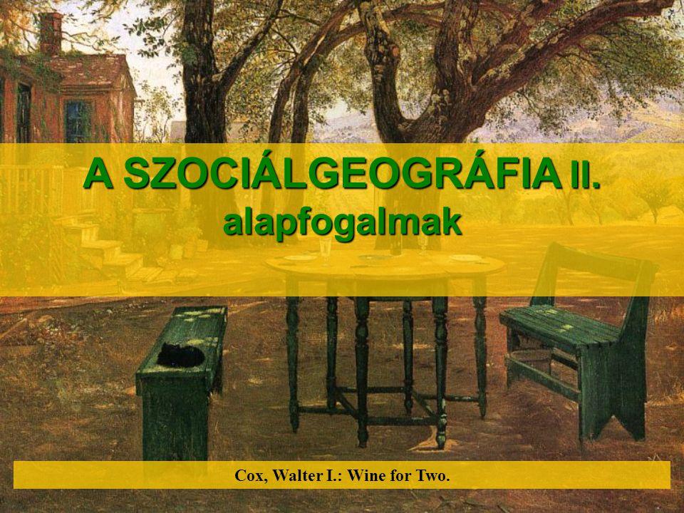  az ember társadalompszichológiai szükségletei a térhasználatban  DELHEES  DELHEES, K.