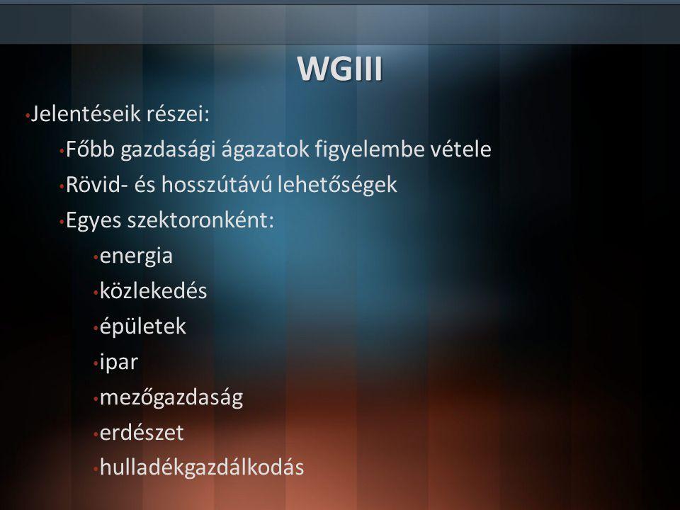 Irodalomjegyzék http://www.ipcc.ch/organization/organization_history.shtml http://www.ipcc.ch/organization/organization_structure.shtml http://www.ipcc.ch/working_groups/working_groups.shtml http://www.ipcc.ch/publications_and_data/ar4/wg1/en/contents.html http://www.ipcc.ch/report/ar5/wg1/ http://hu.wikipedia.org/wiki/Éghajlat-változási_Kormányközi_Testület