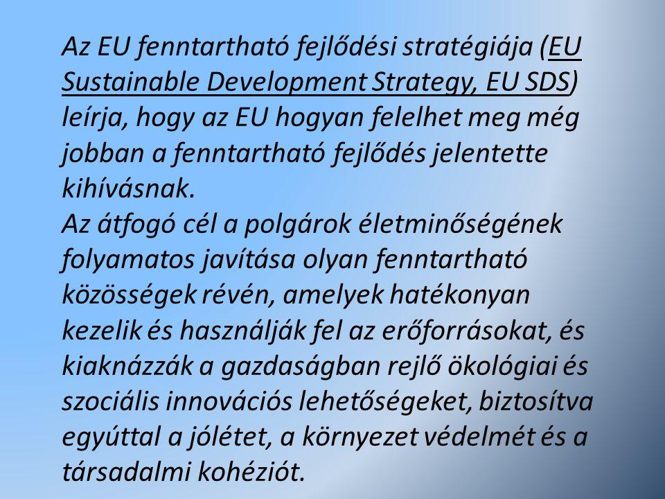 Az EU fenntartható fejlődési stratégiája (EU Sustainable Development Strategy, EU SDS) leírja, hogy az EU hogyan felelhet meg még jobban a fenntarthat