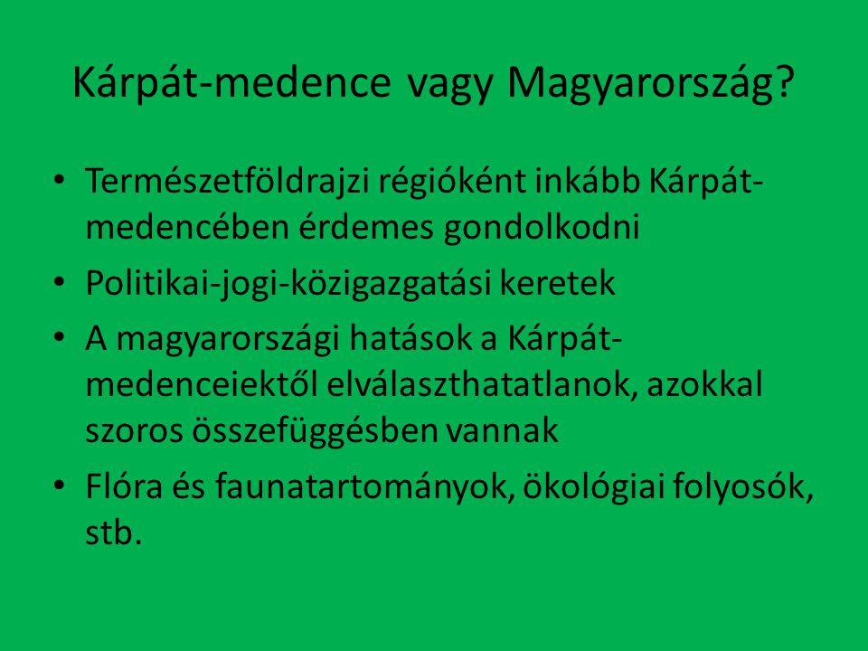 Kárpát-medence vagy Magyarország.