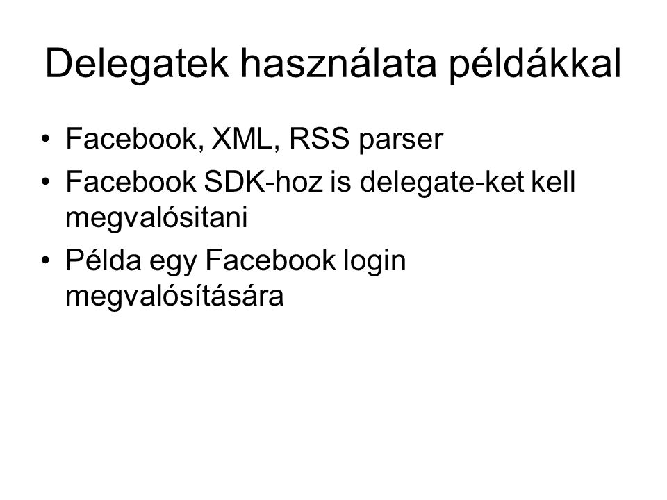 Facebook login interfacek