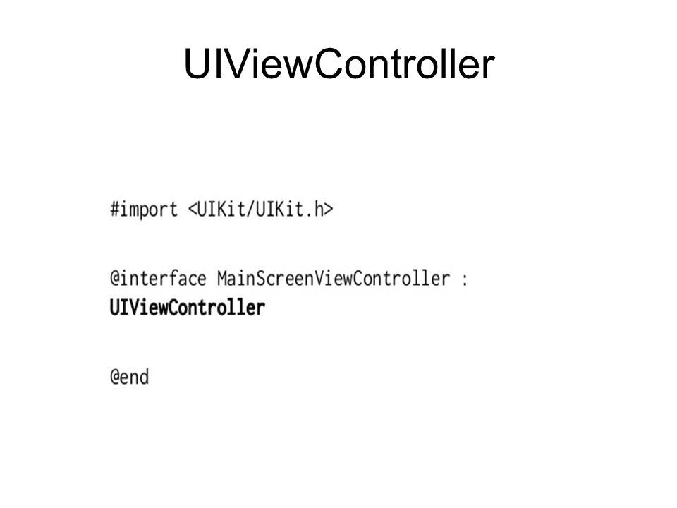 UIViewController