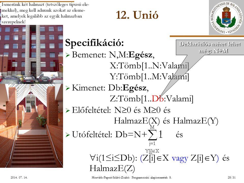 ELTE Horváth-Papné-Szlávi-Zsakó: Programozási alapismeretek 8.28/312014.
