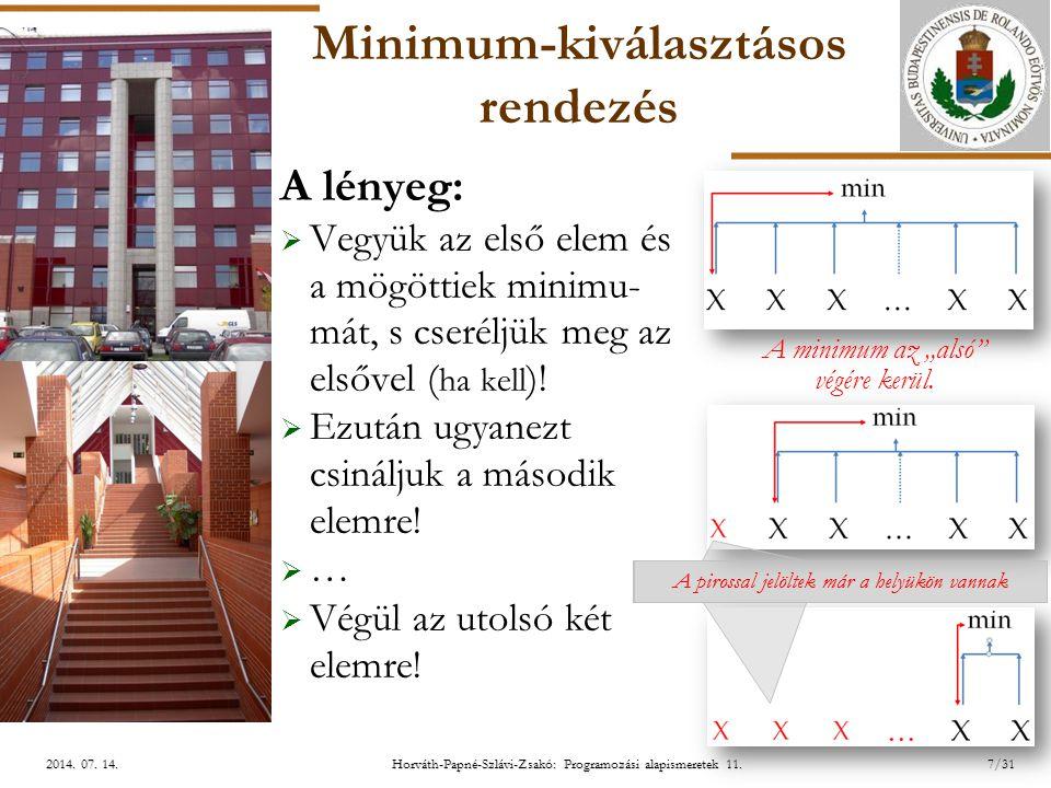 ELTE Horváth-Papné-Szlávi-Zsakó: Programozási alapismeretek 11.28/312014.