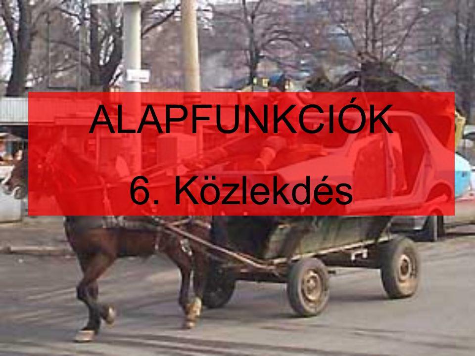 ALAPFUNKCIÓK 6. Közlekdés