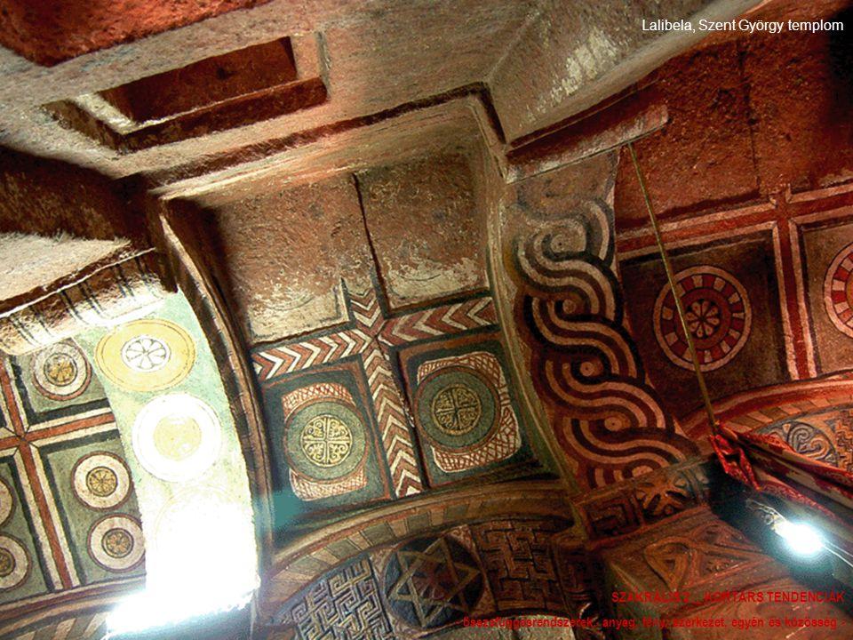 Lalibela, Szent György templom SZAKRÁLIS 2 _ KORTÁRS TENDENCIÁK - összefüggésrendszerek: anyag, fény, szerkezet, egyén és közösség -