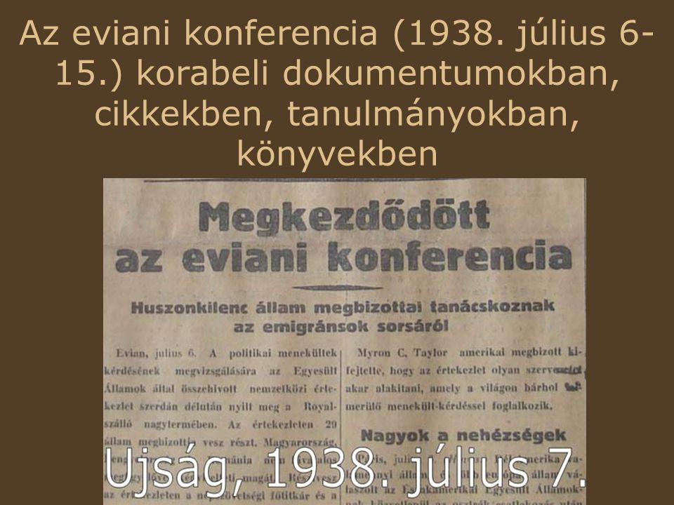 Az eviani konferencia (1938.